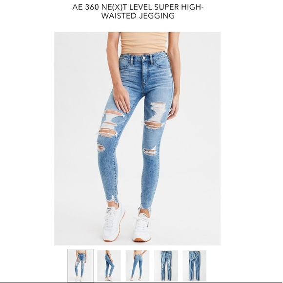6a8b9026d1054 AE 360 NE(X)T LEVEL SUPER HIGH-WAISTED JEGGING. NWT. American Eagle  Outfitters